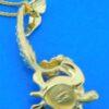 Steven Douglas Mermaid & Sea Turtle Pendant, 14K Yellow Gold