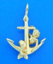 steven douglas mermaid anchor pendant