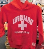 Long Beach Island Lifeguard Hoodie