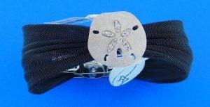 denny wong sand dollar bracelet silver & stainless steel