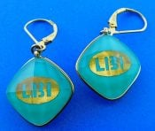 Denny Wong turquoise 18k treasure Island Earrings