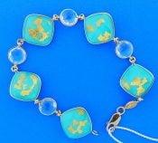Denny Wong Turquoise 18k Treasure Island Bracelet