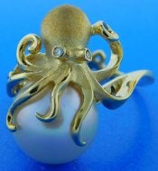 OCTOPUS PEARL RING