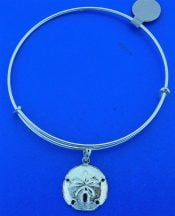 SAND DOLLAR,BANGLE,STERLING