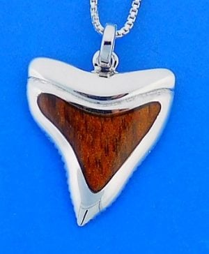 SHARK,TOOTH,PENDANT,STERLING