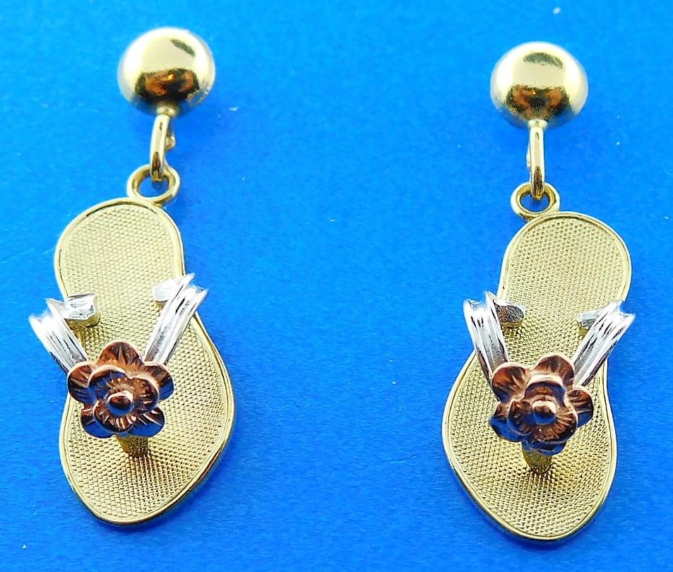 376ac3c04be3 Flip Flop Dangle Earrings