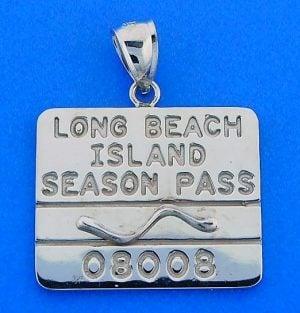 BEACH BADGE,LBI,LONG BEACH ISLAND,14