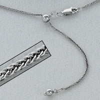 STERLING,CHAIN,ADJUSTABLE