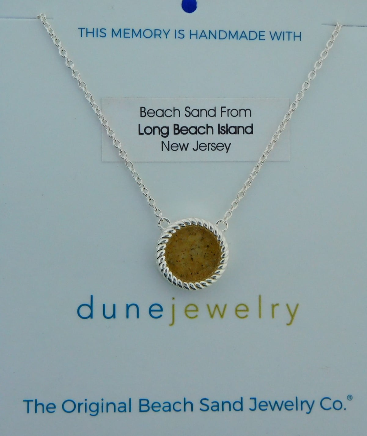 7b660319e Dune Jewelry Sand Jewel Necklace, Sterling Silver | Island Sun ...