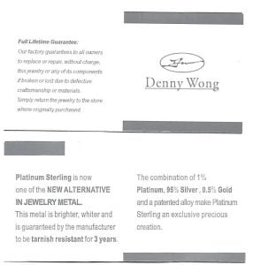 Denny Wong 15mm Plumeria Post Earring,  Precious Silver