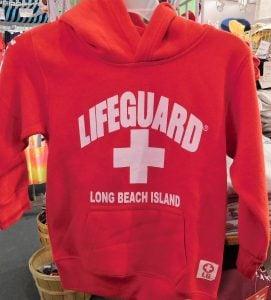 Lifeguard Kids Hoodie, Red