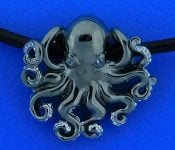 Steven Douglas Octopus Necklace, Sterling Silver