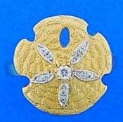Steven Douglas Sand Dollar Ring, 14k