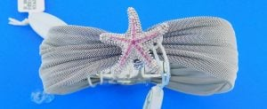"Denny Wong Starfish ""Beach Collection"" Bracelet Precious Silver/Stainless Steel"