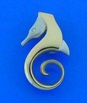Steven Douglas Seahorse Slide, 14k 2-Tone