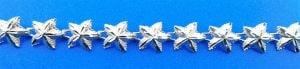Starfish Sealife Bracelet, Sterling Silver