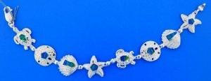 Sea Life Opal Bracelet, Sterling Silver