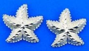 Starfish Post Earring, Sterling Silver