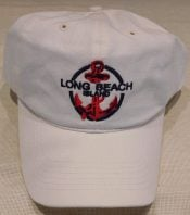 Lbi Baseball Cap Anchor, White