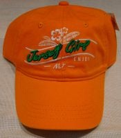 Lbi Baseball Cap, Jersey Girl, Orange