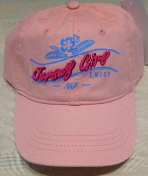 Lbi Baseball Cap, Jersey Girl, Pink