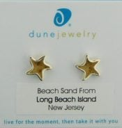 Dune Jewelry Starfish Post Earrings, Sterling Silver