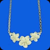 Plumeria Necklaces