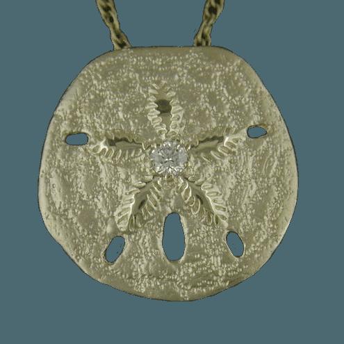 Steven Douglas Jewelry Sand Dollar Pendant