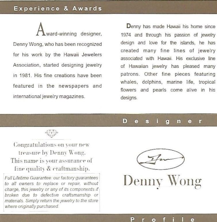 Denny Wong Hatching Sea Turtle Pendant,14k 2-Tone