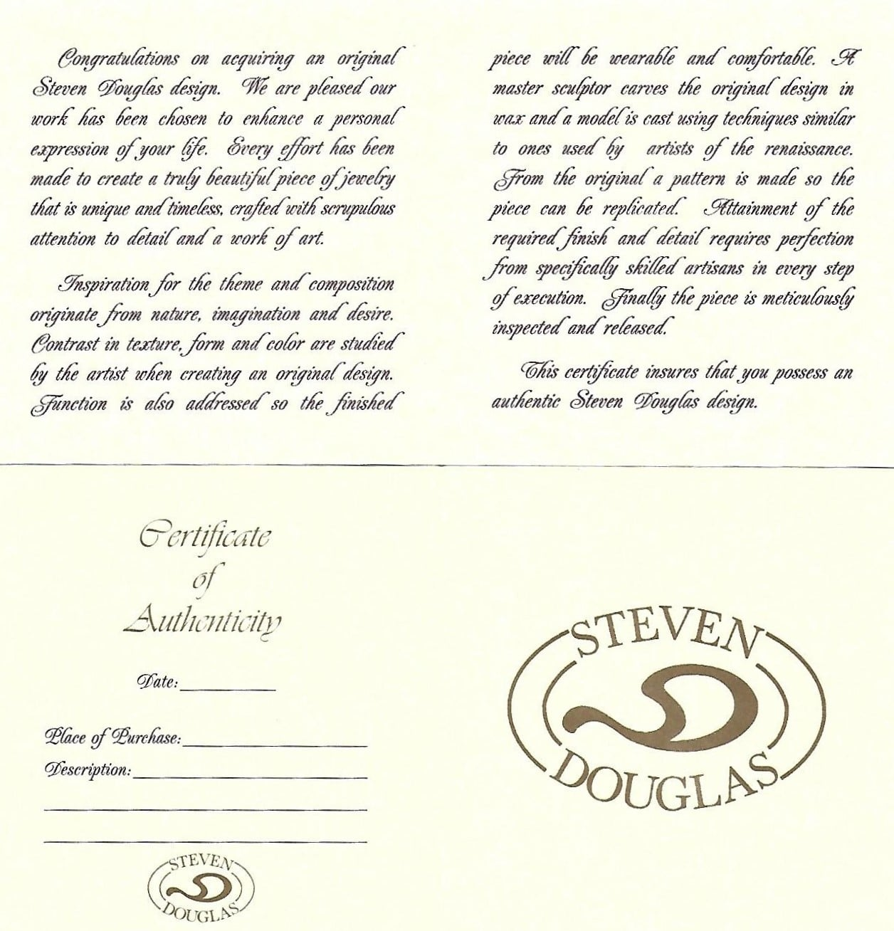 Steven Douglas Seahorse Bangle Bracelet,Sterling Silver/14K