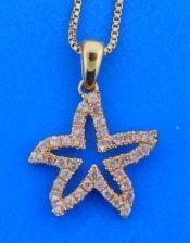 denny wong pink sapphire starfish