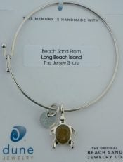 dune sea turtle beach bangle lbi sand