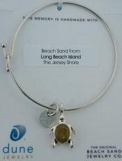 dune sea turtle beach bangle lbi sand