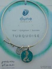 dune jewelry mermaid power stone bangle