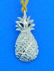 pineapple pendant 14k white