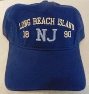 LBI Baseball Cap, NJ 1890, Navy