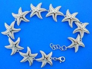 Alamea Starfish Bracelet, Sterling Silver