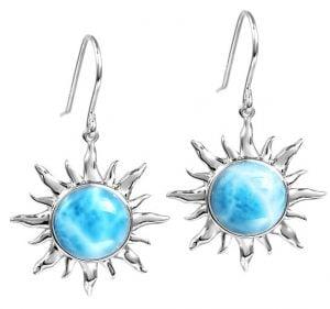alamea sun earrings sterling silver