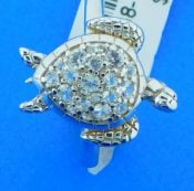 sterling silver sea turtle ring