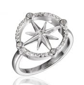 alamea compass rose ring sterling silver