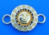 sterling silver sun bracelet topper