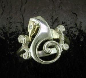 seahorse ring steven douglas