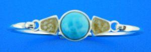 dune jewelry lbi sand & larimar bracelet sterling silver