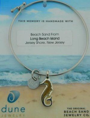 lbi seahorse dune jewelry bracelet