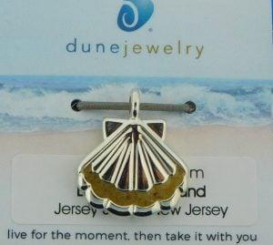 lbi scallop shell lbi sand dune jewelry