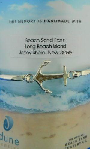 lbi dune jewelry anchor bracelet sterling silver
