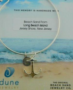 dune lbi anchor bracelet sterling silver