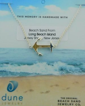 dune anchor bracelet lbi beach sand