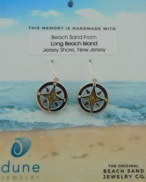 dune lbi compass earrings