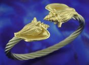 steven douglas conch bracelet